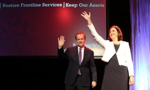 Annastacia Palaszczuk and Bill Shorten
