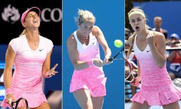 Aus Open pink dress composite 2