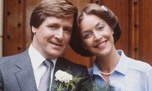 Ken Barlow (Bill Roache) and Deirdre Langton (Anne Kirkbride) tie the knot in 1981.