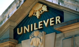 Unilever sales dropped 20% in China as the once-booming economy slows in pace.