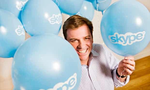former Skype chief executive Tony Bates