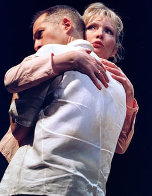 Michael Maloney and Lindsay Duncan in Kevin Elyot's Mouth to Mouth