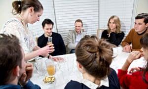 Simon Wroe at a flavour workshop