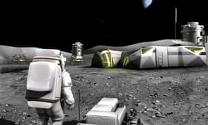 Esa highlight their vision for what future lunar exploration could be.