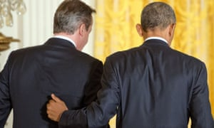 Obama and Cameron cybersecurity
