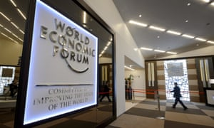 The Congress Center in Davos. Photo: Fabrice Coffrini/AFP/Getty Images.