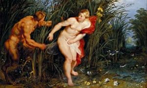 Pan and Syrinx by Rubens