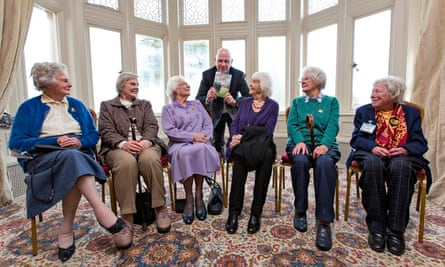 Bletchley ladies who are 'The Debs of Bletchley Park'