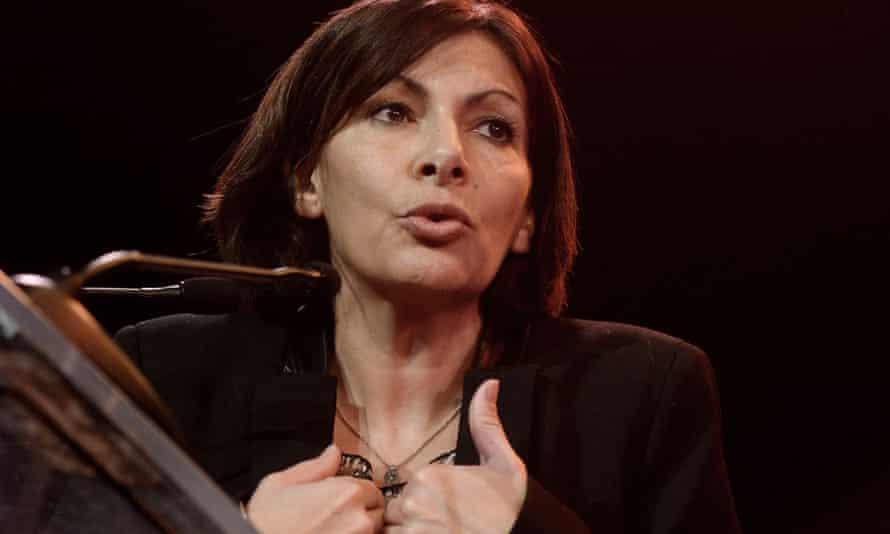 Paris mayor Anne Hidalgo.