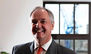Unilever chief executive Paul Polman