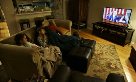 San Diego family watches state of the union