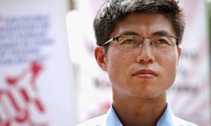 North Korea refugee and human rights activist Shin Dong-hyuk
