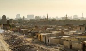 Cairo's City of the Dead, a vast 7th-century necropolis.