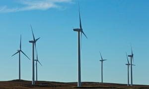 Wind farm in Lancashire