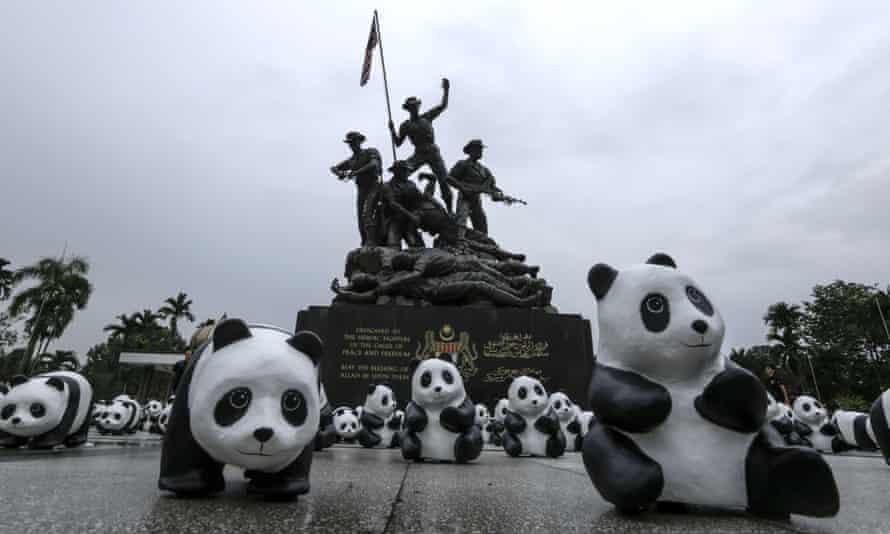 WWF pandas in Malaysia