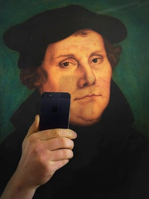 #MuseumSelfie from Martin Luther
