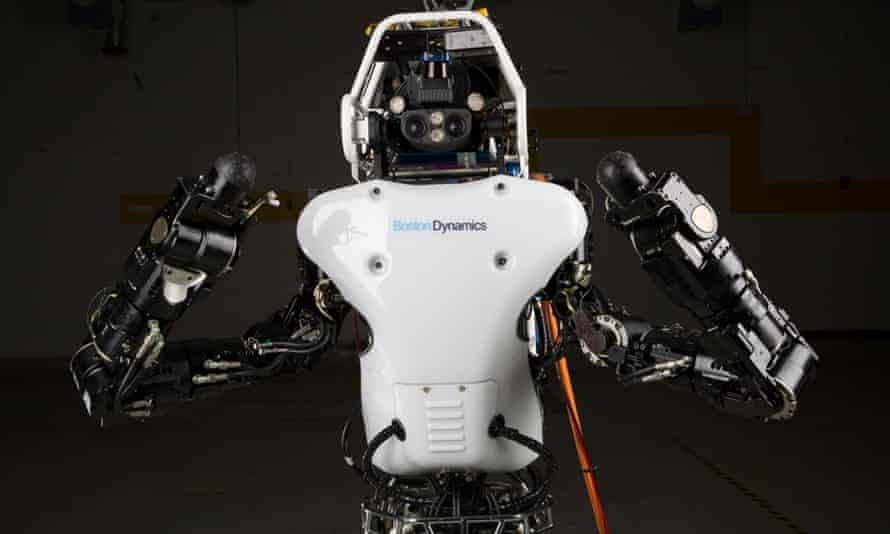 The new Atlas unplugged robot