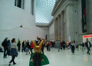 Loki #MuseumSelfie