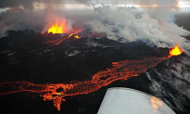 Bardarbunga's volcano fissure