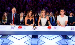 The judging panel on the eighth series of Britain's Got Talent.