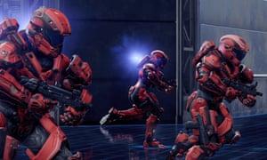 "A scene from ""Halo 5."" (AP Photo/Microsoft)"