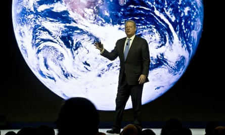 Al Gore at the World Economic Forum Davos