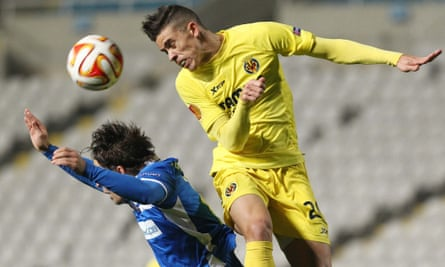 Gabriel Paulista, right, is yet to represent Brazil but has impressed in La Liga for Villarreal.