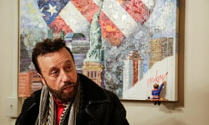 Yakov Smirnoff at his theatre in Branston, Missouri.