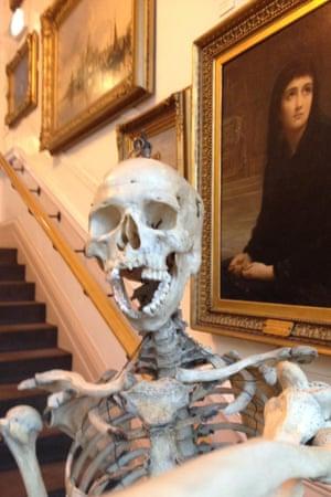 Bury Art Museum selfie