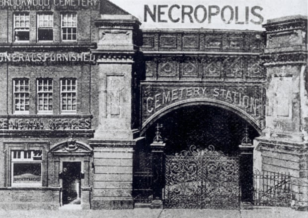 London's Cemetery Station was built to handle funeral traffic for the giant Necropolis cemetery at Brookwood in Surrey.