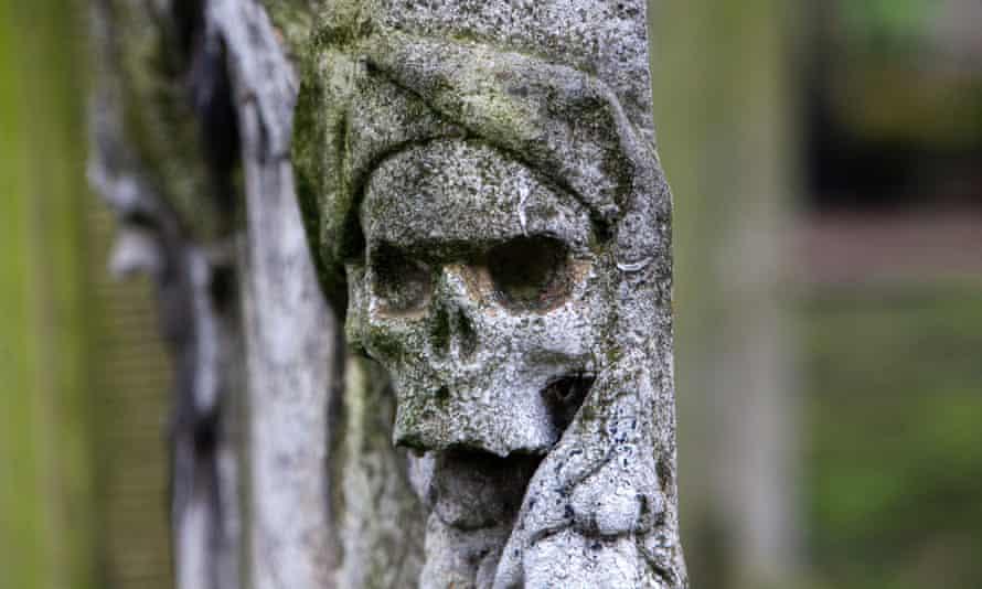 A Victorian-era grave.