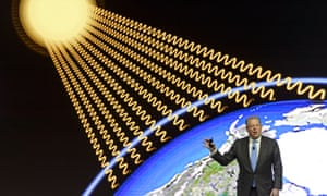Al Gore pushes for climate-friendly business policies.