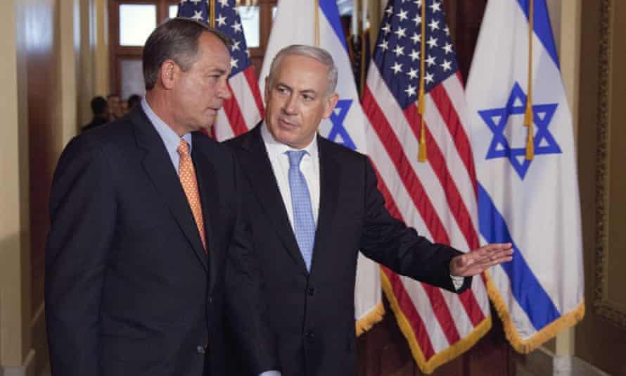 Boehner and Netanyahu