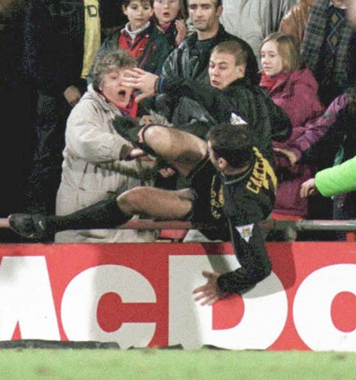 5c0ab99ca From the Vault  Eric Cantona s kung-fu kick at Selhurst Park on 25 January  1995