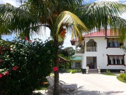 Zanboza Guesthouse, La Digue, Seychelles