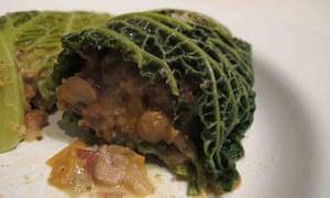 Graham Campbell's vegetarian haggis