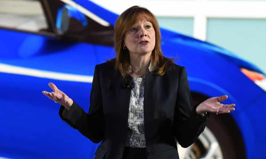 Mary Barra, the chief executive of General Motors