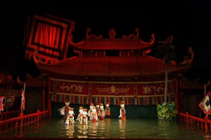 Puppetry at Thang-Long, Hanoi