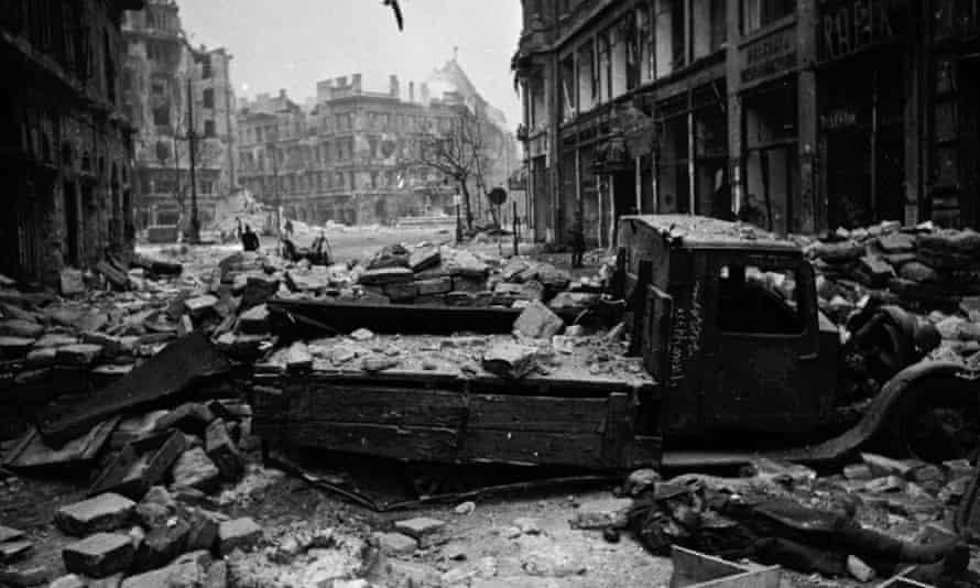 Budapest in February 1945.