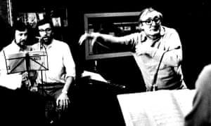 Ward Swingle, right,  in 1974