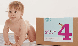 Amazon - soft and cozy diapers