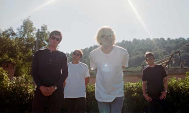 More west coast than Black Country … The Charlatans