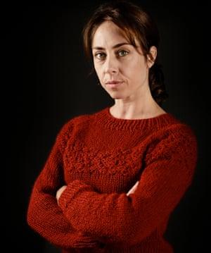 Sofie Gråbøl in the second season of The Killing