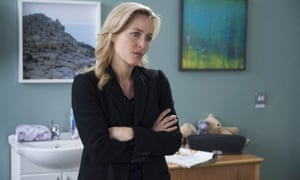 Gillian Anderson in the second season of The Fall.