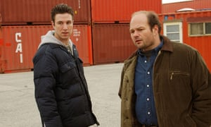 Nick and Frank Sobotka in The Wire, season two.