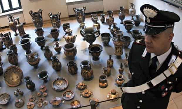 The archaeological treasures on display in Rome, Italy