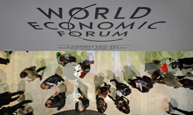 Participants at the World Economic Forum in Davos