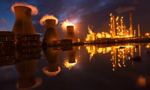 Grangemouth oil refinery and petrochemical plant