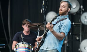 the Black Keys playing live in 2012
