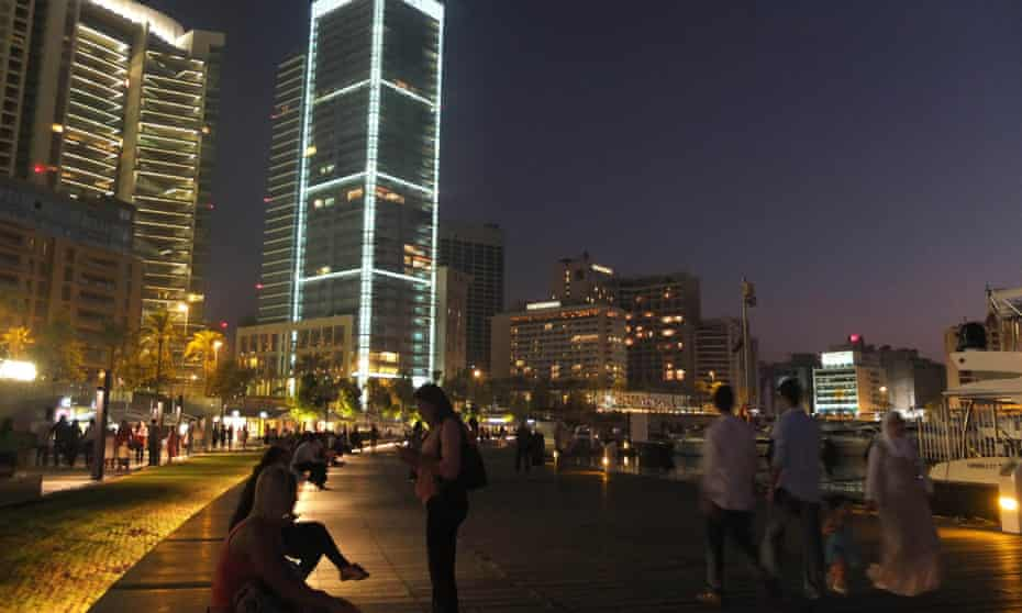 Zaitunay Bay on the Beirut waterfront